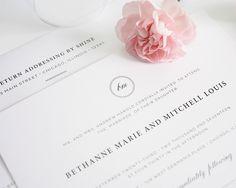 Vintage Elegance Wedding Invitations - Wedding Invitations by Shine