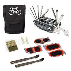 Lemo Bike Repair Tool Kit - 16 in 1 Multi-Function Bicycle Mechanic Repair Tool Kit with Portable and Compact Screwdriver Nut Driver for Any Emergency During Cycling Find out more about the great product at the image link.