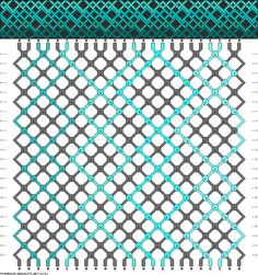 Friendship Bracelet Pattern 21721 new