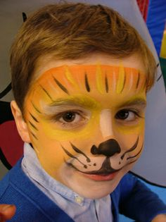 Lion Face Paint, Jungle Party, Halloween Make Up, Grimm, Diy, Pretty, Jungle Thema, Crafts, Painting