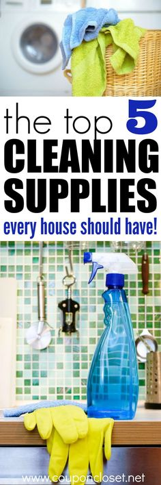 The Best Cleaning Supplies You need!