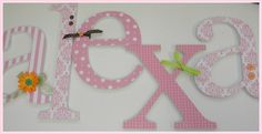 """Take a look at our creative wall letters and home decor ideas at www.CreativeHomeDecorations.com. Use code """"Pin70"""" for additional 10% off!"""
