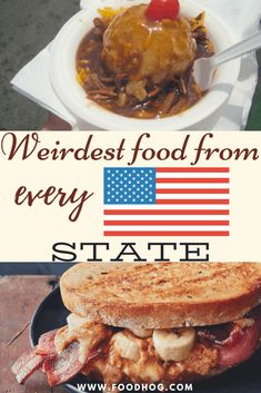 Are you wondering what are some of the weirdest things people in the United States eat every day? Then you'll surely love the weirdest dishes from every American state. Boiled Dinner, Best Street Food, Weird Food, People Eating, International Recipes, Foodie Travel, So Little Time, The Best, Food And Drink