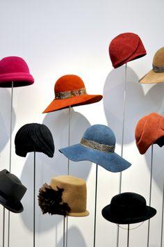 Handmade hats by @satyatwena