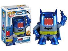 DC Domo POP Heroes! - Batman (Blue & Gray) Metallic SDCC 20103 Exclusive - DC Comics DC Domo