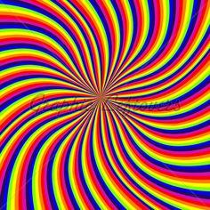 Rainbow Swirl · GL Stock Images