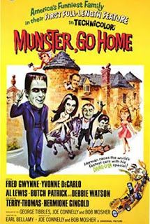 Watch Munster, Go Home! full hd online Directed by Earl Bellamy. With Fred Gwynne, Yvonne De Carlo, Al Lewis, Butch Patrick. The Munsters travel to England after Herman discovers he's the new The Munsters, Vintage Movies, Vintage Posters, 1960s Movies, Movies 2019, Vintage Ads, Terry Thomas, America Funny, Yvonne De Carlo