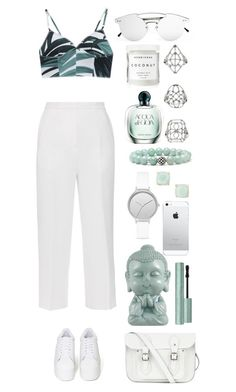 """""""19:16"""" by marispa ❤ liked on Polyvore featuring Rochas, Jeffrey Campbell, The Cambridge Satchel Company, Spitfire, Lagos, Skagen, American Retro, Kate Spade, Topshop and Herbivore"""