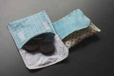 Re-usable snack bags. I have made these from my own design, but this seems better.