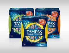 Tampax Femenine Pads