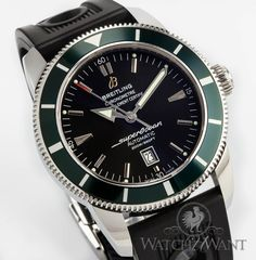 Breitling Superocean Heritage 46 Chronograph - Special Green Bezel Limited Edition (only 1000 pieces!!!) #NewArrivals