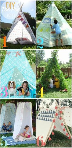 diy teepee - for the little people in my life <3