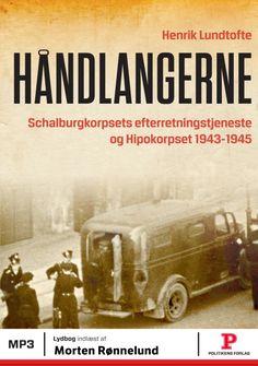 """Læs Håndlangerne på Mofibo. Det tyskbesatte Danmark var i 1944-45 kraftigt forandret i forhold til de fredelige tilstande ved """"Flødeskumsfronten"""" i… Danish Culture, Jokes, Funny, Movie Posters, Ww2, Country, Hiccup, Historia, Politics"""