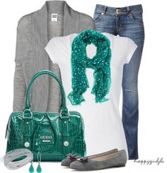 """""""TEAL"""" by happygirljlc ❤ liked on Polyvore"""
