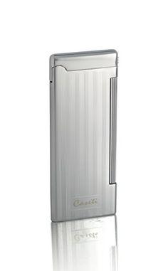 Caseti Nox Soft Flame Flint Lighter  Chrome Lines II Soft Traditional Flame ** This is an Amazon Affiliate link. Be sure to check out this awesome product.