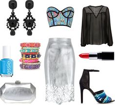 """""""Sagittarius April Night Fashionscope"""" by fashionscopes on Polyvore"""