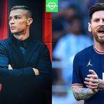 Ronaldo vs Messi transfers Messi Vs Ronaldo, Football Photos, Baseball Cards, Sports, Hs Sports, Sport