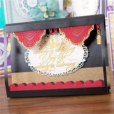 Tattered Lace Ornate Swag Die (339894)   Create and Craft