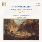 Mendelssohn: String Symphonies Vol. 2, Nos. 7-9 [CD]