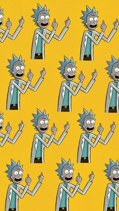 Rick and Morty discovered by Bastet on We Heart It - grafika odkryte przez Bast. Cartoon Wallpaper, Mood Wallpaper, Locked Wallpaper, Lock Screen Wallpaper, Iphone Wallpaper, Simpson Wallpaper Iphone, Dope Wallpapers, Aesthetic Wallpapers, Cool Wallpapers Rick And Morty