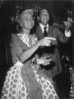 Beautiful photo of Dean and Jeannie - really really nice picture of times gone by - web source - MReno