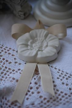 White Scented Plaster  Cadeau de Mariage by RoseinItaly on Etsy, $5.00