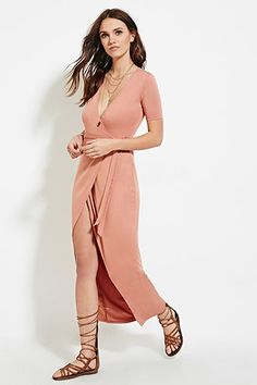 Wrap Maxi Dress | Forever 21 - 2000183430
