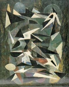 Nicolas de Staël, Composition 092, 1942