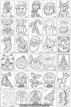 Winter Christmas Scenes, Colorful Christmas Tree, Christmas Crafts For Kids, Christmas Activities, Christmas Bells, Christmas Colors, Christmas Art, Simple Christmas, Christmas Nativity