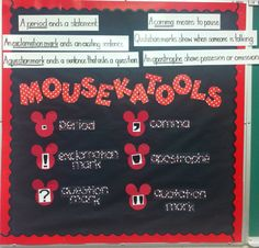 Mouskatools- love Mickey so I had to find a way to incorporate for my classroom!