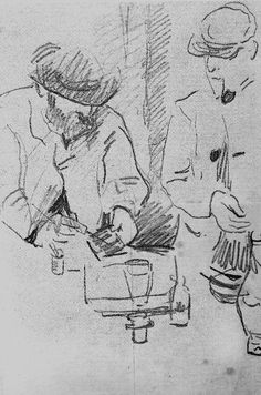 Cezanne drawing