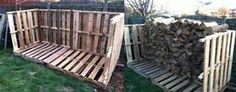 Creative Ideas from The Pits: Pallet Firewood Storage