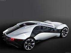 Futuristic Car, Alfa-Romeo Pandion Concept (Bertone) (2010)