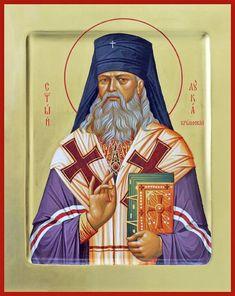 St. Luke the Surgeon of Simferopol Russian Orthodox icon
