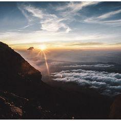 Gunung Agung (Mount Agung) in Karangasem, Bali