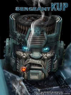 Sergeant kup by ~capcomkai2008 on deviantART
