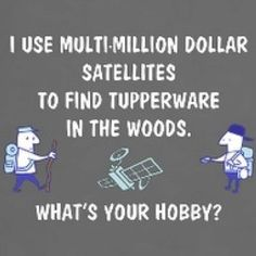 Geocaching! (This made me LOL)