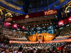 First Night of the Proms at the Royal Albert Hall, London