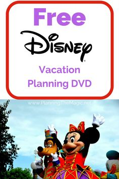Planning a Disney vacation can be touch, that's why the Walt Disney company offers the a free planning DVD.