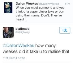 Dallon. Buddy. You walked right into that one.