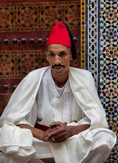Zaouia from Si Ahmed Tidjani, Medina, Fez, Morocco by Batistini Gaston, via Flickr