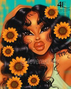 Black Love Art, Black Girl Art, Black Girls, White Aesthetic Photography, Comic Art Girls, Black Girl Cartoon, Drawing Wallpaper, Pop Art Girl, Black Art Pictures