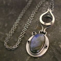PLANEET|Srebrny Wisior|Labradoryt|Silver Pendant|Handmade|By Norman Man Jewellery Norman, Pendants, Necklaces, Pendant Necklace, Jewellery, Silver, Handmade, Planets, Jewels