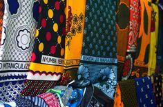 Glastonbury Festival Fashion Inspiration. Africa, Kenya, kanga pattern tribal, colourful massai fabric
