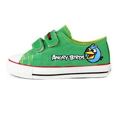 3dcf6d0cb9a3bb Angry Birds Child Shoes-Green