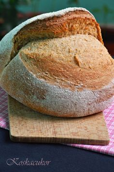 Aludttejes, tönköly kenyér How To Make Bread, Bread Baking, Bakery, Lime, Meals, Cooking, Food, Pizza, Recipes