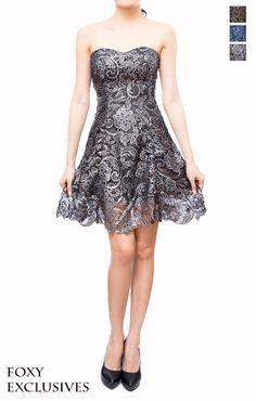 Herren Lace Dress