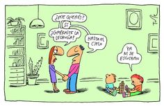 Tutelandia Por Tute Mal Humor, Humor Grafico, Poems, Doodles, Marriage, Cartoon, Drawings, Funny, Thoughts