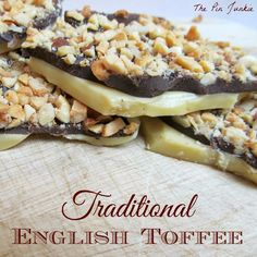 Homemade English Toffee
