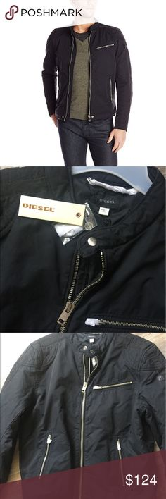 Diesel Men's J-Ares Jacket. Size: XL Brand new with tags. Diesel Men's J-Ares Black Jacket. Size: XL Diesel Jackets & Coats